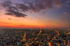 Torre Eiffel minuscola Fotografia Stock Libera da Diritti