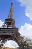 A torre Eiffel na mola Imagem de Stock Royalty Free