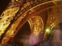 Torre Eiffel na noite Foto de Stock Royalty Free