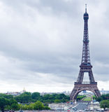 Torre Eiffel no dia Foto de Stock Royalty Free