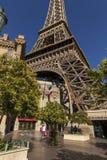 A torre Eiffel no hotel em Las Vegas, nanovolt de Paris o 20 de maio de 2013 Fotos de Stock Royalty Free