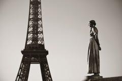 Torre Eiffel París Imágenes de archivo libres de regalías