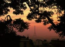 Torre Eiffel París Francia foto de archivo libre de regalías