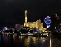 Torre Eiffel, París, Las Vegas Foto de archivo