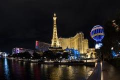 Torre Eiffel, París, Las Vegas Imagenes de archivo