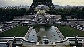 Torre Eiffel Par?s almacen de video