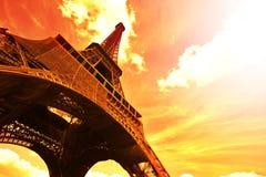 Torre Eiffel - Parigi Fotografie Stock