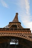 Torre Eiffel a Parigi Fotografia Stock
