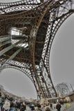 Torre Eiffel a Parigi Immagini Stock Libere da Diritti