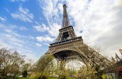 Torre Eiffel a Parigi Immagini Stock