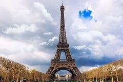 Torre Eiffel Parigi Fotografia Stock Libera da Diritti