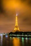 Torre Eiffel a Parigi eiffel Fotografia Stock