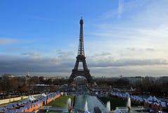 Torre Eiffel a Parigi, Francia Fotografie Stock
