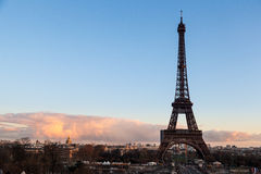Torre Eiffel, Parigi Francia Fotografia Stock