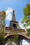 Torre Eiffel, Parigi, Francia immagini stock libere da diritti