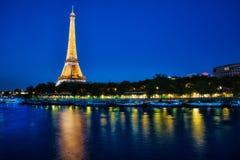 Torre Eiffel Parigi Francia Fotografie Stock Libere da Diritti