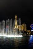 Torre Eiffel, Parigi, Las Vegas Fotografie Stock Libere da Diritti