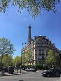 Torre Eiffel Parijs Stock Afbeelding