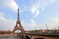 Torre Eiffel Paris Foto de Stock Royalty Free