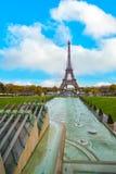 A torre Eiffel, Paris Foto de Stock