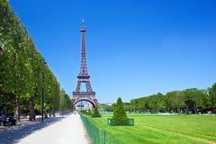 Torre Eiffel, Paris, França Fotos de Stock Royalty Free