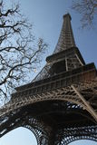 A torre Eiffel Paris, França março de 2010 Imagem de Stock