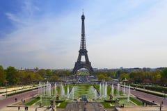 A torre Eiffel, Paris, France imagens de stock