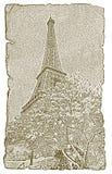 Torre Eiffel in primavera Fotografia Stock
