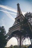 Torre Eiffel, s?mbolo de Paris, Fran?a Os melhores destinos de Paris em Europa foto de stock royalty free