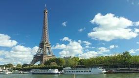 Torre Eiffel Timelapse almacen de metraje de vídeo
