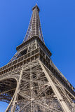 Torre Eiffel (viaje Eiffel del La) en París, Francia. Imagen de archivo