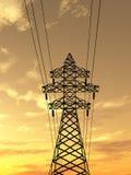 Torre eléctrica Imágenes de archivo libres de regalías