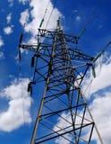 Torre eléctrica Fotos de archivo libres de regalías