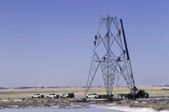 Torre eléctrica Imagen de archivo libre de regalías