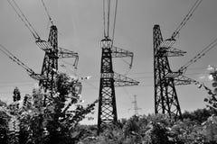 Torre eléctrica Foto de archivo