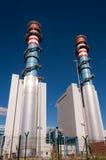 Torre eléctrica de la central del generador Imagenes de archivo