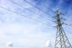 Torre eléctrica de la transmisión cerca de Talingchan, Bangkok Tailandia Fotos de archivo