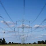 Torre elétrica imagens de stock royalty free
