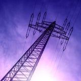 Torre elétrica foto de stock royalty free