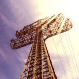Torre elétrica fotografia de stock royalty free