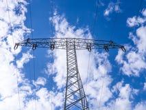 Torre elétrica imagem de stock