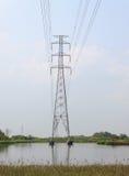 Torre elétrica da transmissão Fotos de Stock