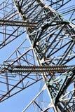 Torre elétrica de transferência Imagens de Stock
