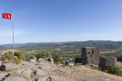 Torre ellenistica Troya La Turchia Immagini Stock Libere da Diritti