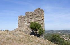 Torre ellenistica Troya La Turchia Fotografia Stock