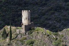 Torre em Lastours Imagem de Stock Royalty Free