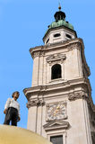 Torre em Salzburg Imagem de Stock Royalty Free