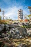 Torre em um parque Fotos de Stock Royalty Free