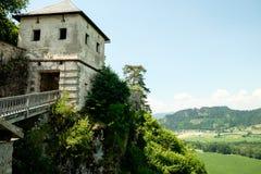 Torre em uma rocha Fotos de Stock Royalty Free