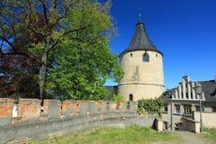Torre en Altenburgo Foto de archivo libre de regalías